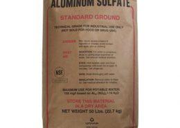 سولفات آلومینیوم