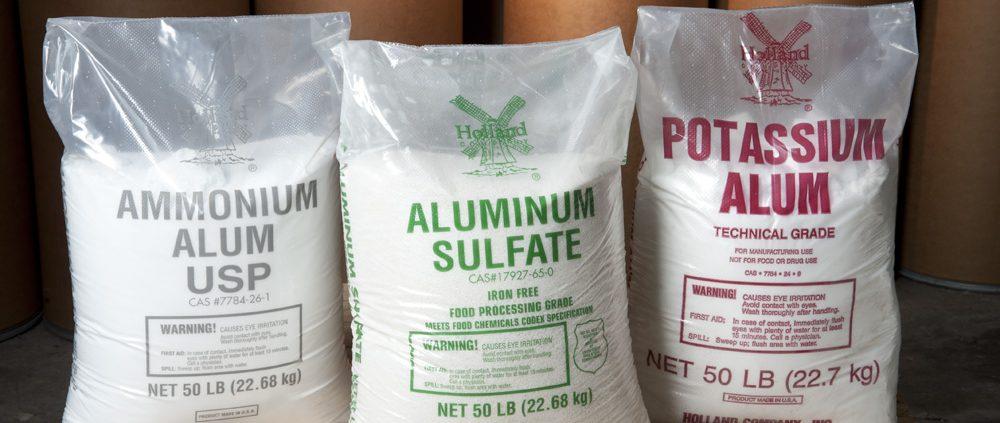 تولید سولفات آلومینیوم